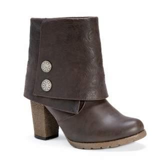 Muk Luks Chris Women's Foldover Ankle Boots