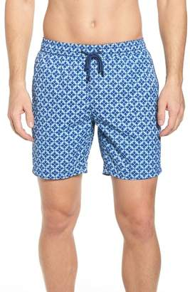 Mr.Swim Mr. Swim Mosaic Swim Trunks