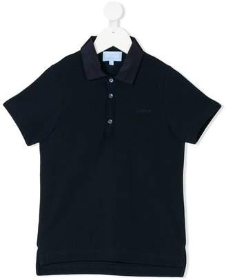 Lanvin Enfant embroidered logo polo shirt