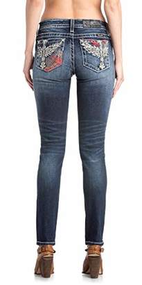 Miss Me Junior's Mid-Rise Skinny Jeans