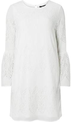 Dorothy Perkins Womens **Only White Lace Shift Dress