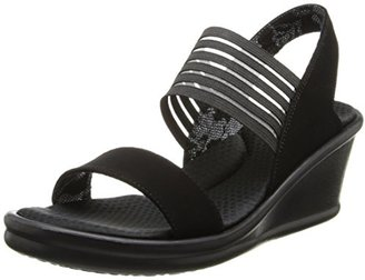 Skechers Cali Women's Rumbler Sci-Fi Wedge Sandal $39.99 thestylecure.com