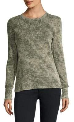 Cotton Citizen The Monaco Distressed Thermal Top