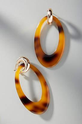 Reliquia Jewellery Opulent Hooped Post Earrings
