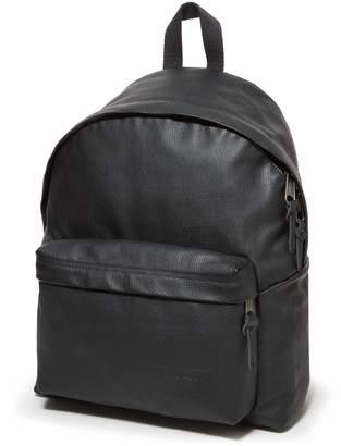 Eastpak Leather Backpack - ShopStyle