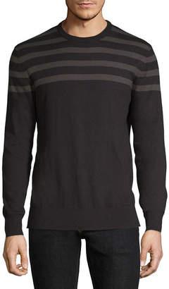 Claiborne Crew Neck Long Sleeve Layered Sweaters