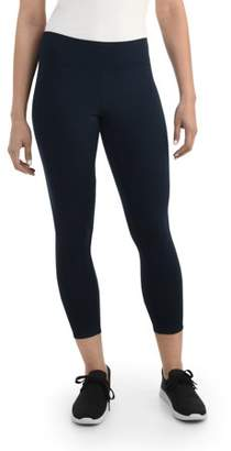 Fruit of the Loom Seek No Further by Women's Wide Waistband Legging, Available in sizes up to 2XL