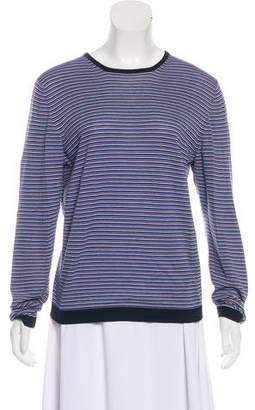 TOMORROWLAND Striped Long Sleeve Top