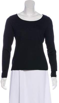 Akris Punto Scoop Neck Tee