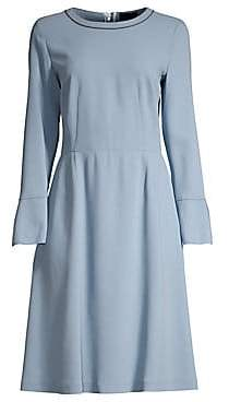 Piazza Sempione Women's Bell Sleeve A-Line Dress