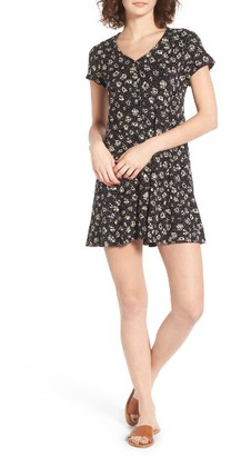 Women's Obey Bella Floral Print Dress $64 thestylecure.com