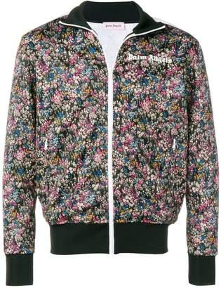 Palm Angels flower print bomber jacket