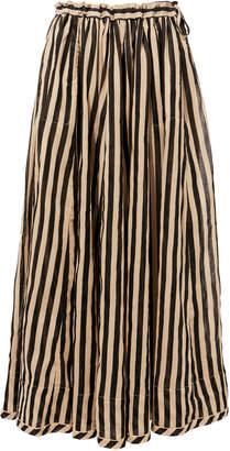 Zimmermann Jaya Draw Flare Maxi Skirt