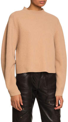 Chloé Ribbed Wool-Cashmere Sweater