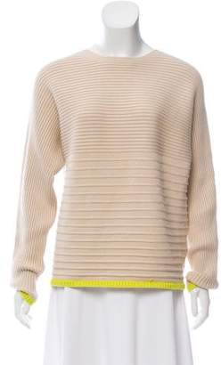 Nomia Horizontal-Rib Knit Sweater w/ Tags