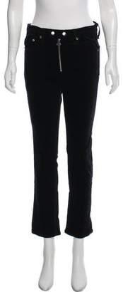 Rag & Bone Velvet High-Rise Jeans