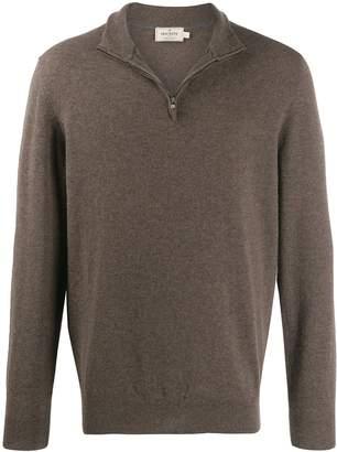 Hackett MYF cashmere zip-up sweatshirt