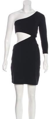 Susana Monaco One-Shoulder Mini Dress