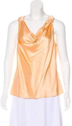 St. John Sleeveless Silk Top w/ Tags