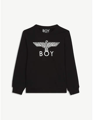 Boy London Logo cotton-blend sweatshirt 12-16 years