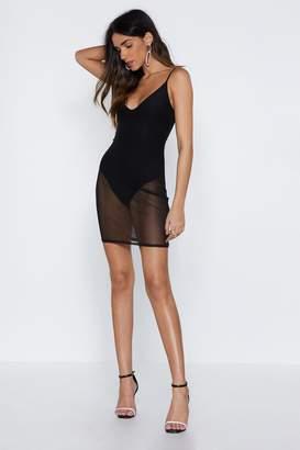 Nasty Gal Let's See Mesh Dress