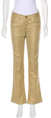 Ralph Lauren Black Label Mid-Rise Straight-Leg Jeans