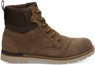 Toms Waterproof Twig Oiled Suede Men's Ashland Boots