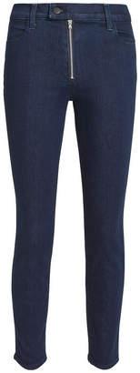 J Brand Alana Exposed Zip Skinny Jeans
