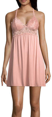 DAISY FUENTES Daisy Fuentes Knit and Lace Chemise
