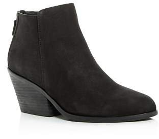 Eileen Fisher Women's Rove Nubuck Leather High-Heel Booties