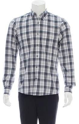 Michael Kors Casual Plaid Shirt