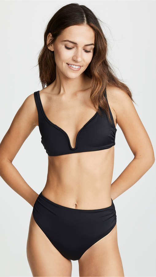Chloe Plunge Bralette Bikini Top