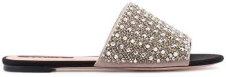Rochas jewelled slides