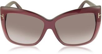 Tom Ford IRINA FT0390 Oversized Squared Sunglasses