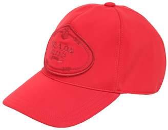 Prada Logo Patch Neoprene Baseball Hat