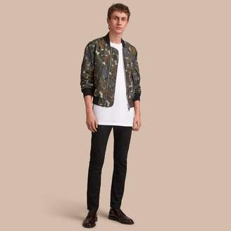 Burberry Beasts Print Lightweight Bomber Jacket