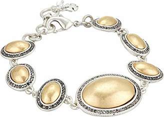 Lucky Brand Women's Pave Gem Link Bracelet