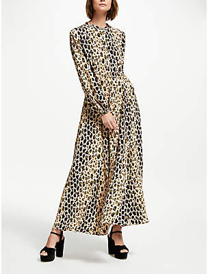 Somerset by Alice Temperley Leopard Print Maxi Dress, Multi