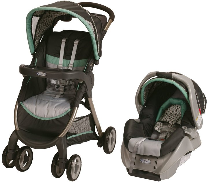 Graco FastAction Fold Classic Connect Travel System + SnugRide Classic Connect - Richmond