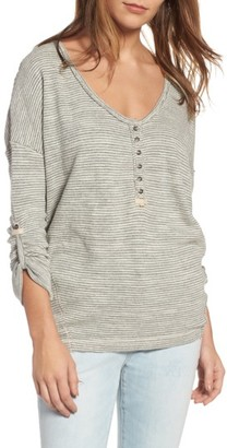 Women's Free People Beach Haven Tee $68 thestylecure.com
