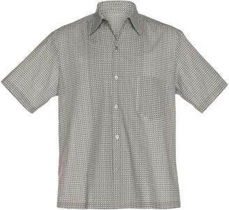 Maison Margiela Printed Cotton Button-Up Shirt