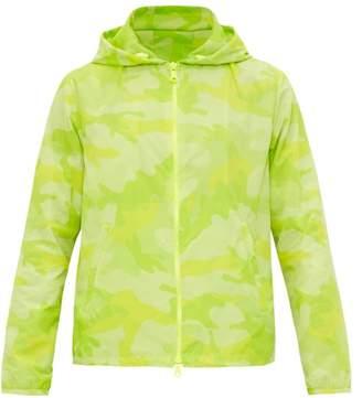64fc5665308ac Valentino Camouflage Print Neon Jacket - Mens - Green