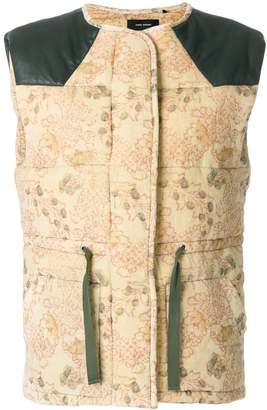 Isabel Marant padded waistcoat