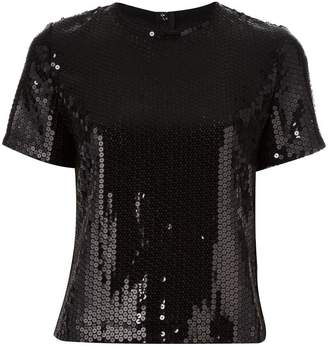 Comme des Garcons PRE-OWNED sequinned top