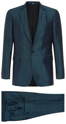Burberry Jacquard Two Piece Suit