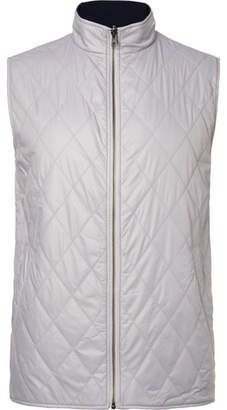Dunhill Links - Fraser Reversible Quilted Shell and Wool Golf Gilet