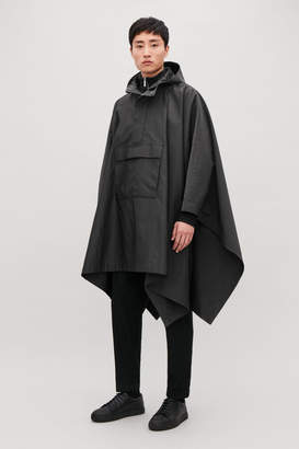Cos HOODED CAPE WITH POCKETS