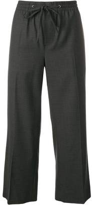 Miu Miu cropped trousers