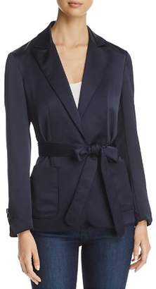 Karen Millen Piped Satin Jacket - 100% Exclusive
