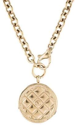 Chanel CC Medallion Pendant Necklace